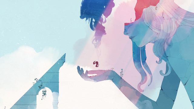 Gris is an indie platform-adventure game. The game follows a girl named Gris, who wakes up in the palm of a crumbling statue of a woman. She attempts to sing out, but quickly becomes choked up and the statue's hands crumble, dropping her to the colourless earth below. After landing, the girl continues walking forward and discovers a number of strange structures that seem to be powered by mysterious points of light resembling stars. The girl can collect these lights to gain new abilities, such as turning into a block of stone, and to create new pathways made of constellations.