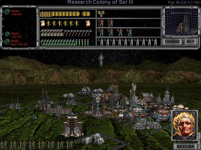 Master of Orion II is more complex than the original game, providing more gameplay options for the player. Three new alien races have been added, and there is the option for players to design and add their own race. Instead of the one planet per star system found in the original there are now multiplanet star systems that can be shared with opponents. Spaceships can now engage in combat, marines can board enemy ships, and planets can be blown up. Multiplayer mode includes one-on-one matches and games with up to eight players.