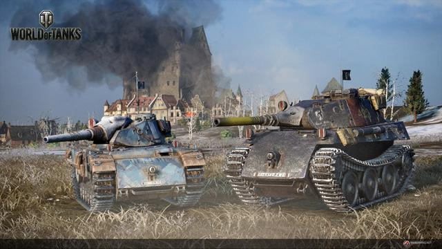 World of Tanks (WoT) is a massively multiplayer online game, featuring mid-20th century (1930s–1960s) era combat vehicles. The player takes control of a single armored vehicle of their choice, and is placed into a battle on a random map. The player has control over the vehicle's movement, firing, and can communicate with allied players through typed or voice chat. A simple random match is won either by destroying all vehicles on the opposing team or capturing the opposing team's base. There are other game modes that change the rules of the battle, but gameplay mechanics remain the same. World of Tanks contains multiple game mechanics such as camouflage, shell ricochets, and module damage. (from Wikipedia)