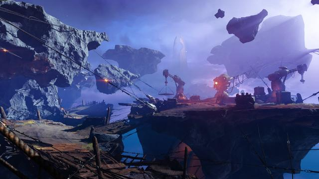 "Destiny 2: Forsaken is a major expansion for Destiny 2, a first-person shooter video game.  It revolves around the player's Guardian seeking to avenge the death of Cayde-6 by the hands of Prince Uldren Sov. Uldren, corrupted by the Darkness, is in search of his lost sister, Queen Mara Sov, both of whom were thought to have died in Destiny: The Taken King. Along their journey, players face the Scorn, undead versions of the Fallen race that have been revived and morphed into a new race. Forsaken adds content across the game, including new missions, Player versus Environment locations, Player versus Player maps, player gear, weaponry, and a new raid. A new competitive Crucible mode was added, called ""Breakthrough""—two teams of four fight to attempt to capture a central point called a ""Breaker""; the first team that captures the Breaker can then hack the opposing team's vault, all while the opposing team defends their vault from being hacked. (from Wikipedia)"