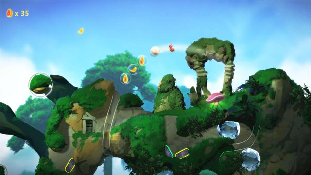 Yoku's Island Express is a platforming pinball adventure video game developed by Swedish studio Villa Gorilla and published by Team17. The studio's debut project, the game was released in 2018 for Nintendo Switch, Microsoft Windows, PlayStation 4 and Xbox One.